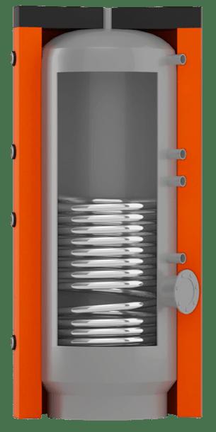 Косвенного нагрева BT-01 с нижним спиральным теплообменником