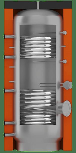 Косвенного нагрева BT-11 с двумя теплообменниками