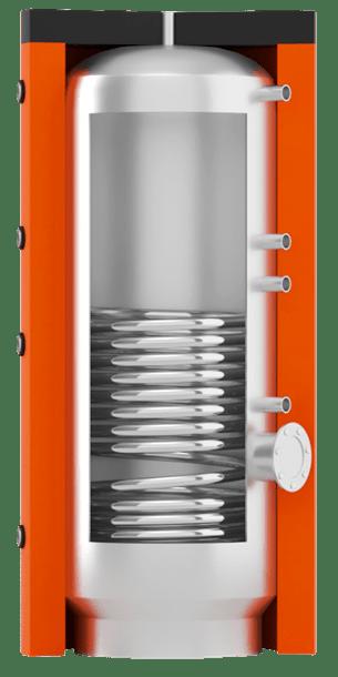 Горячего водоснабжения ВТІ-01 с нижним спиральным теплообменником